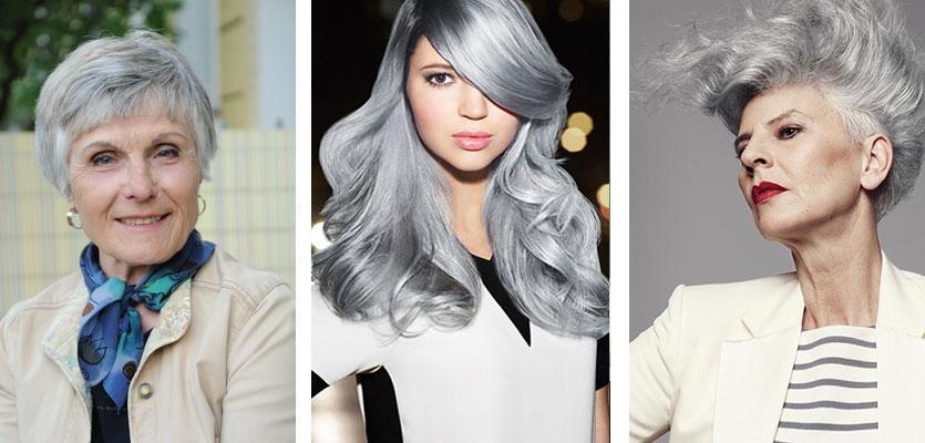 grey hair gray hair granny hair