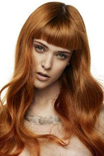 Pumpkin Spice and Gingersnap Hair Color