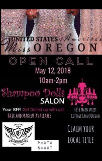 Open Call for Miss Oregon!