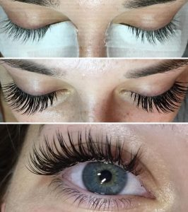 eyelash extensions before and after cottage grove Oregon