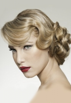 vintage-wedding-updo